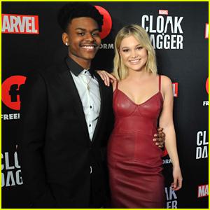 Olivia Holt Opens Up About 'Cloak & Dagger's Interracial Superhero Romance