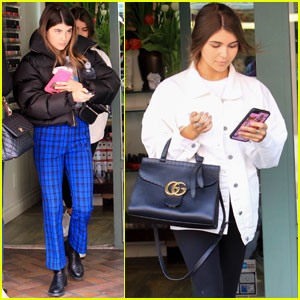 Olivia Jade & Sis Bella Step Out For Afternoon Nail Salon Outing!