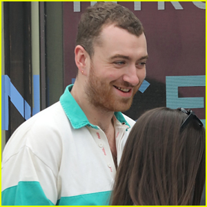 Sam Smith Spends the Afternoon Hanging Out With His Friends!
