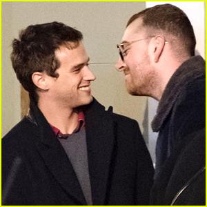 Sam Smith Pokes Fun at Photos of Him Kissing Brandon Flynn!