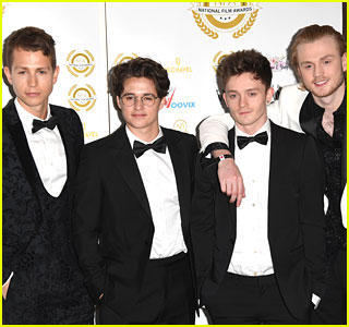 The Vamps Take Break From Tour Rehearsal to Attend National Film Awards UK