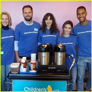 Troian Bellisario Teams Up with Lucy Hale's New Co-Stars for Make March Matter!