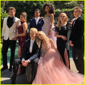 Meg Donnelly & Corey Fogelmanis Go Behind-the-Scenes at YSBnow's Prom!