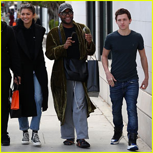 Zendaya is All Smiles While Out With Tom Holland in Beverly Hills