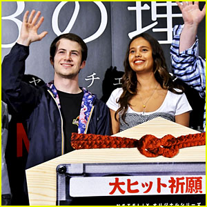 Dylan Minnette & Alisha Boe Attend '13 Reasons Why' Screening Event in Tokyo!