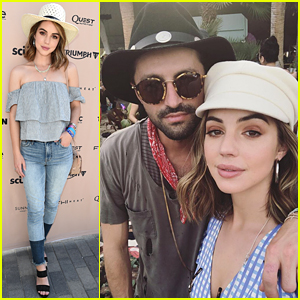 Adelaide Kane Keeps It Super Cute in Hats During Coachella Weekend #1