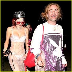 Bella Thorne Wears Body-Baring Dress at Coachella with Boyfriend Mod Sun