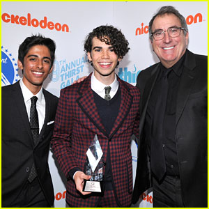Cameron Boyce Receives Pioneering Spirit Award at Thirst Gala 2018