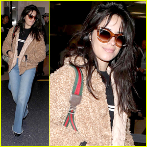 Camila Cabello Heads To Airport After Nabbing Four Billboard Music Award Nominations