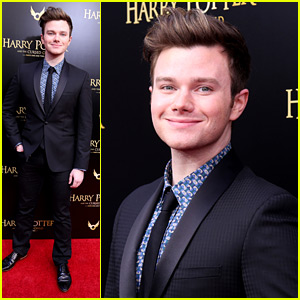 Chris Colfer Steps Out For 'Harry Potter and the Cursed Child' Broadway Opening Night