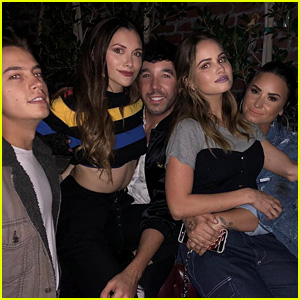 Demi Lovato, Debby Ryan, Alyson Stoner & More Disney Stars Reunite at Hayley Kiyoko's Party!