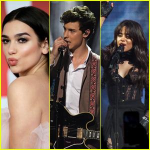 Dua Lipa, Shawn Mendes & Camila Cabello Are All Performing at BBMAs 2018!