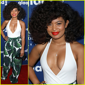 'Chilling Adventures of Sabrina's Jaz Sinclair Steps Out For GLAAD Media Awards 2018