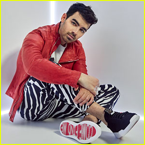 Joe Jonas Designed Shoes With 'Come Find Me' Written on Them - Here's Why!