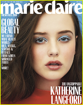 Katherine Langford Shines as One of Marie Claire's Fresh Faces of 2018