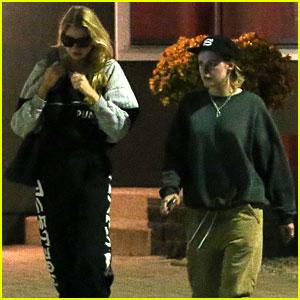 Kristen Stewart & Stella Maxwell Couple Up for Sweaty Detox Sesh