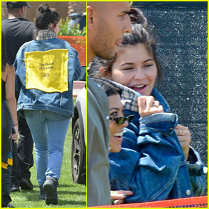 Kylie Jenner is All Smiles While Making Her Coachella Entrance!