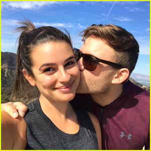 Lea Michele Is Engaged To Zandy Reich - See the Ring!