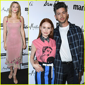 Lili Reinhart & Madelaine Petsch Are Pink Ladies At Fresh Faces Event