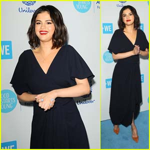 Selena Gomez Is All Smiles While Arriving at WE Day California!