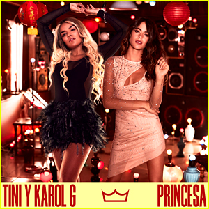 Tini Drops Brand New Track 'Princesa' With Karol G - Watch The Music Video Now!