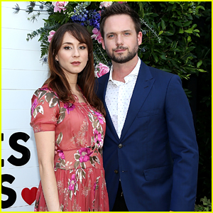 Troian Bellisario & Patrick J. Adams Couple Up For 'This Bar Saves Live' Launch