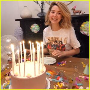 Zoella Celebrates Her 28th Birthday in New York City!