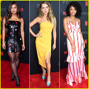 Alisha Boe, Anne Winters & Ajiona Alexus Lead '13 Reasons Why' Cast To Netflix FYSee Party