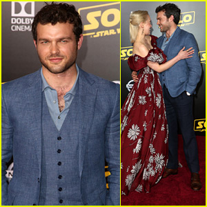 Alden Ehrenreich Premieres His New Film 'Solo: A Star Wars Story' in Hollywood