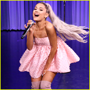 Ariana Grande Transforms Hit Songs Into Her Own on 'Fallon' - Watch Now!