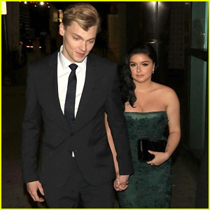 Ariel Winter Supports Levi Meaden at Premiere of New Film 'Breaking In'
