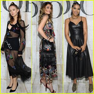 Billie Lourd, Paris Jackson, & Alexandra Shipp Look Chic at Christian Dior Cruise Collection Photo Call!
