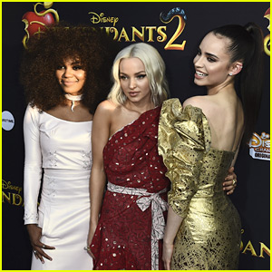 Dove Cameron, Sofia Carson & China Anne McClain Hype Up 'Descendants 3' Music