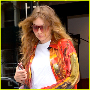 Gigi Hadid Heads Out for Another Photo Shoot in NYC!