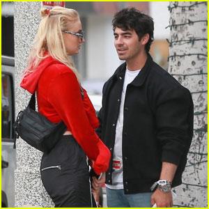 Joe Jonas & Sophie Turner Couple Up For Shopping Trip