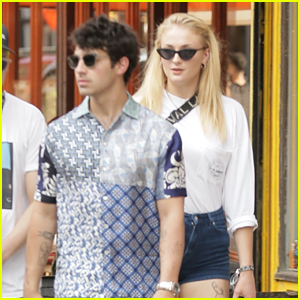 Joe Jonas & Sophie Turner Grab Lunch in NYC