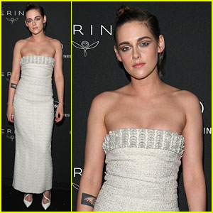 Kristen Stewart Is A Silver Goddess at Women In Motion Dinner