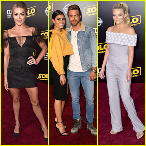 Hayley Erbert & Derek Hough Make It A Date Night at 'Solo: A Star Wars Story' Premiere