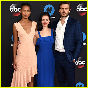'Siren' Stars Celebrate Season 2 Renewal News at Freeform Upfronts 2018