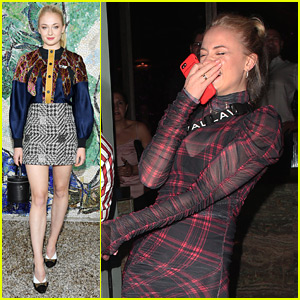 Sophie Turner Has a Giggle Fest After Dinner Out in London