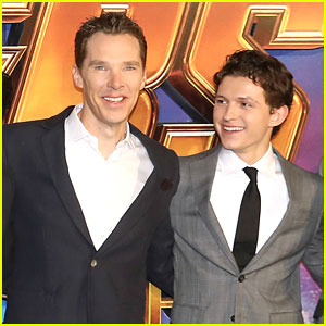 Tom Holland Gets Hushed By Benedict Cumberbatch In Interviews to Avoid 'Infinity War' Spoilers - Watch Now!