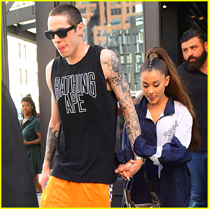 Ariana Grande & Pete Davidson Step Out for the Day in NYC!