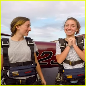 Brooklyn & Bailey Went Skydiving to Celebrate Graduating From High School!
