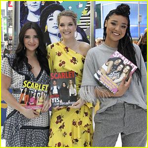 Katie Stevens, Meghann Fahy & Aisha Dee Promote 'The Bold Type' Season 2 Premiere on GMA