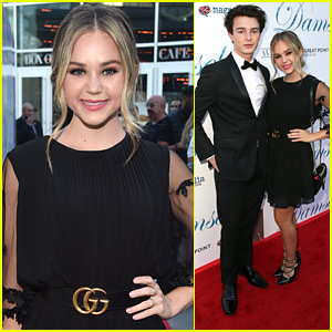 Brec Bassinger & Dylan Summerall Make It A Date Night at 'Damsel' Premiere