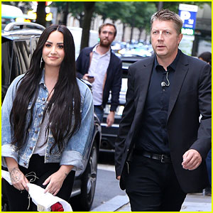 Demi Lovato's Bodyguard Max Joins Her in Paris After Apologizing for Prank