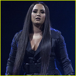 Demi Lovato Adds Some New Ink  - See Her Finger Tattoo!