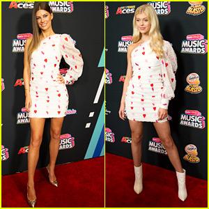 Hannah Stocking & Loren Gray Wear Same Dress to RDMAs 2018 & Both Look Fabulous