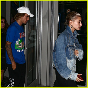 Justin Bieber & Hailey Baldwin Catch a Movie Together in Florida!