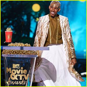 Keiynan Lonsdale Gives Inspiring Speech at MTV Movie & TV Awards 2018!